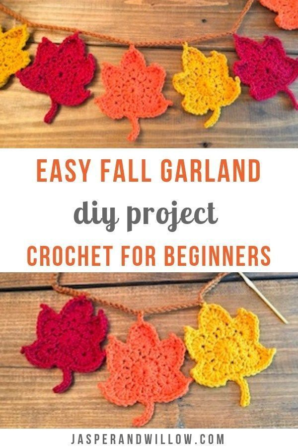 Step By Step Crochet Tutorial For Inexperienced persons – Simple Autumn Garland