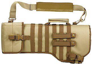 VISM Tactical Gun Case/Weapon Scabbard - Tan CVRSCB2919T Soft Gun Case