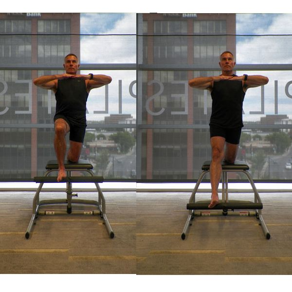 Woman Pilates Chair Exercises Fitness Stock Photo: 1000+ Ideas About Pilates Chair On Pinterest