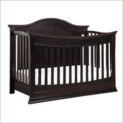 Da Vinci Meadow 4-in-1 Convertible Crib with Toddler Rail in Dark Java