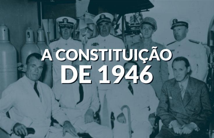 Já ouviu falar na Constituição de 1946? Descubra o que houve depois que o Estado Novo interrompeu a democracia e como nossa primeira ditadura chegou ao fim!