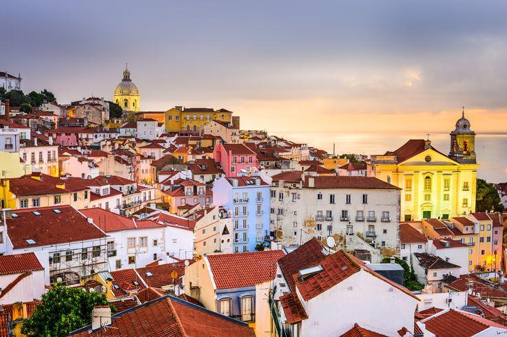 Alfama, Lisbon, Portugal Cityscape