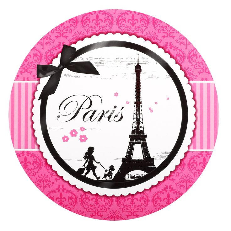 Paris Damask Round Activity Placemats, 86299