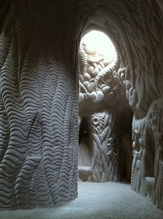 In fall 2011, my partner Kevin was working on a film called Blaze You Out .  One of the scenes took place in a carved sandstone cav...