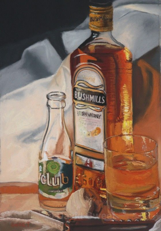 Bush and Club Ginger - Paintings