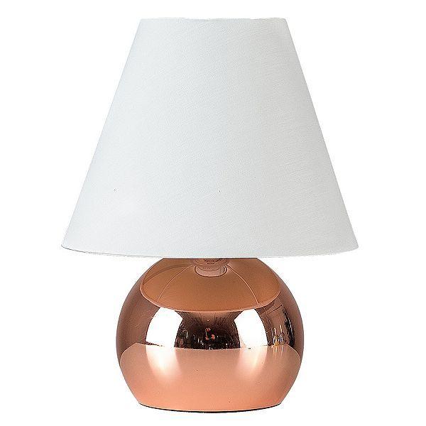Tesco direct: Mojo Touch Table Lamp, Copper & Cream
