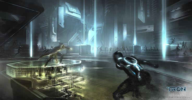 Final battle - Abraxas - TRON concept art