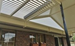 ShadeBlade allows light in when you want it and blocks it out for shade and to keep the heat out when necessary.