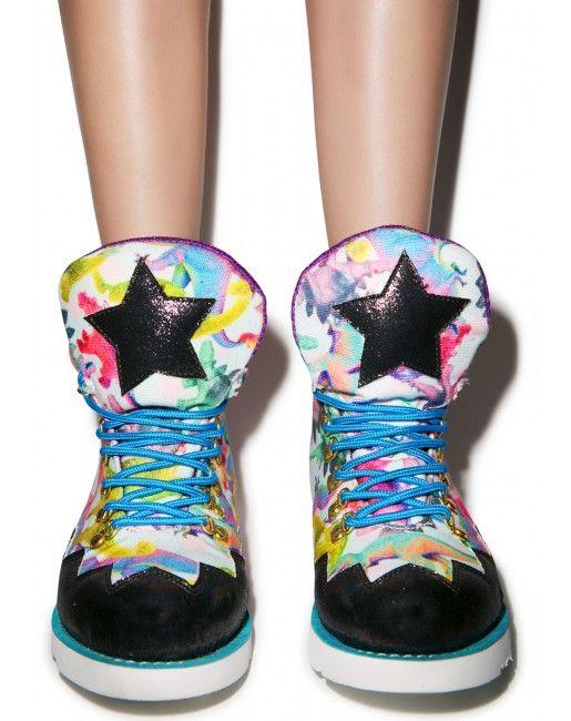 Irregular Choice Touching The Void Boots | Dolls Kill