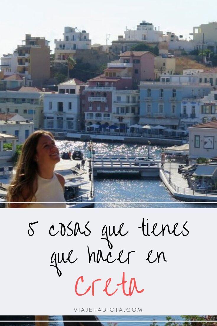 5 Cosas Que Tienes Que Hacer En Creta Viaje Creta Grecia Turismo Outdoor Outdoor Decor Places