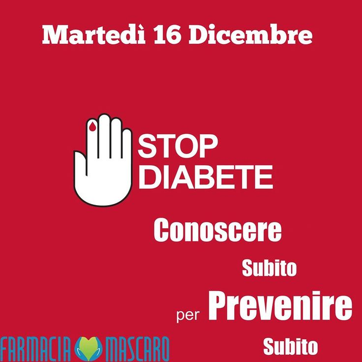 Prevenire è meglio che curare, dedichiamo un'intera giornata alla prevenzione del #diabete. Misurazione gratuita della glicemia, consigli sui corretti stili di vita e materiale informativo a disposizione