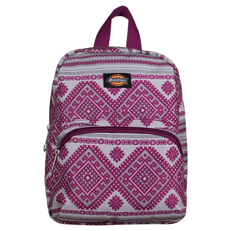 Dickies Mini Festival Backpack - Pink Berry Knit