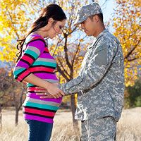 Long-Distance Pregnancy: Help Your Deployed Spouse Stay Involved
