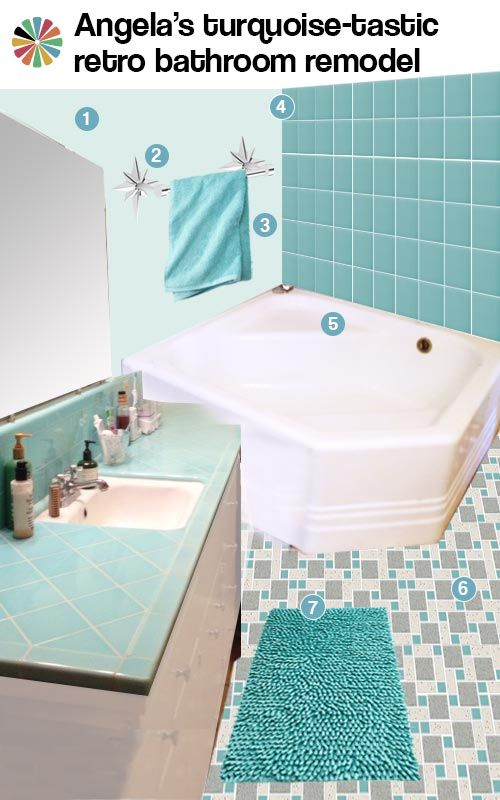 turquoise tiles bathroom 52 best tiled countertops images on bathroom 14838