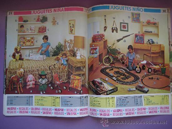 CATALOGO PUBLICITARIO VALISPAR AÑO 1980, MUY BUEN ESTADO.
