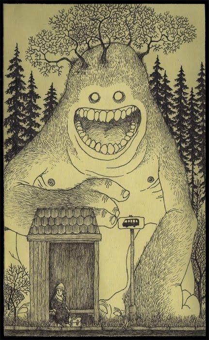 Don Kenn - Tree monster - http://johnkenn.blogspot.se/