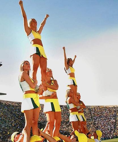 University of Oregon Cheerleading, Ducks,