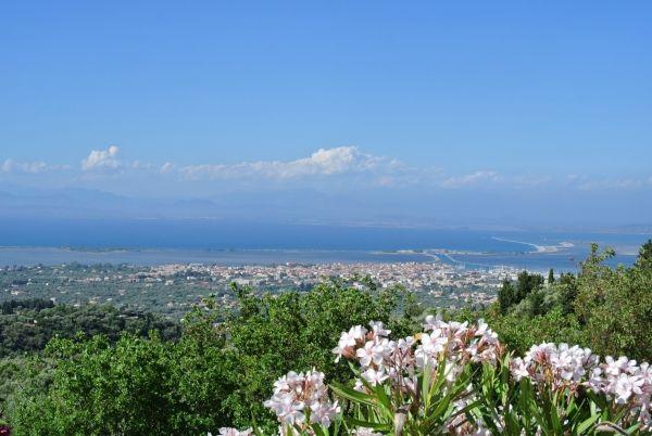 Panorama of Lefkada Town
