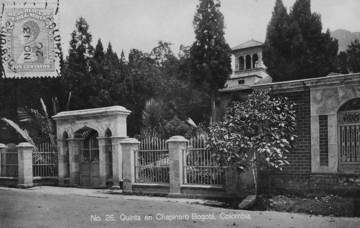 Quinta del Barrio Chapinero de Bogotá
