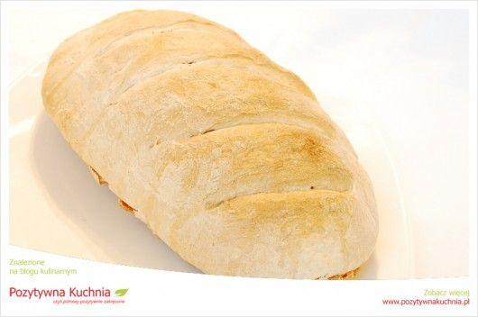 Domowy chleb pszenny #przepis na #chleb na zakwasie z mąki pszennej  http://pozytywnakuchnia.pl/domowy-chleb-pszenny/  #kuchnia #pieczywo