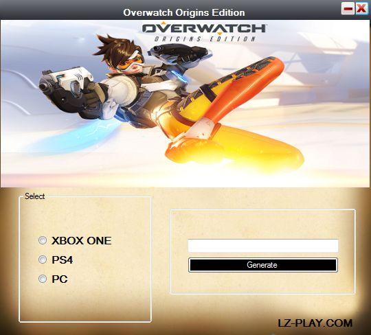 Overwatch Origins Edition Redeem Code Generator. This particular tutorial gonna demonstrate the way to Access Free Overwatch Redeem Code Generator to download Overwatch Origins Edition.