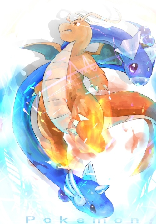 Dratini dragonair dragonite