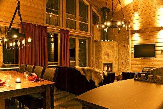 Hillside Villa, livingroom.