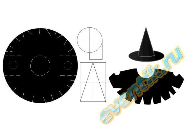 Как сделать самой костюм ведьмочки к празднику хэллуин
