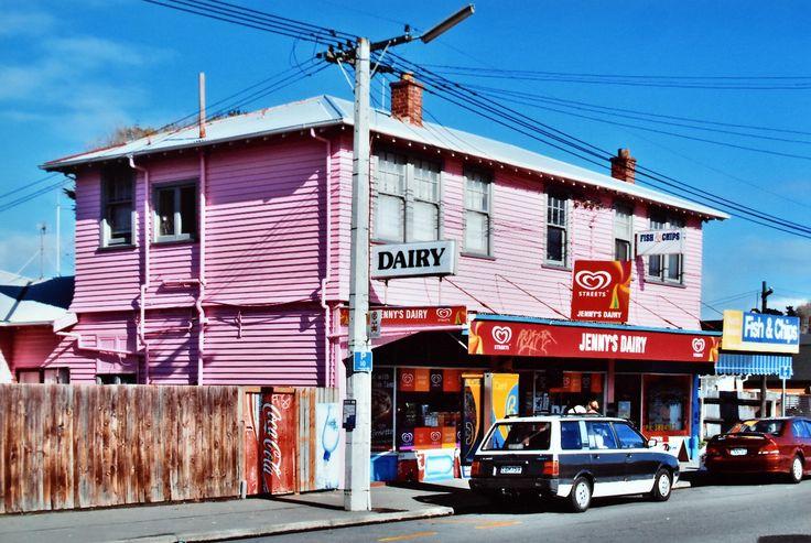 https://flic.kr/p/WWHjyX   Jenny's Dairy   Christchurch, New Zealand