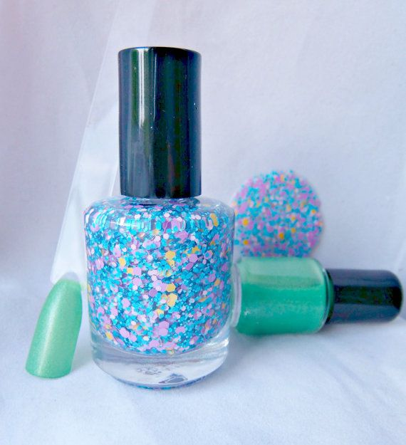The Amazing World of Gumball  DUO  2 LARGE Bottles  by IndiePolish, $20.00