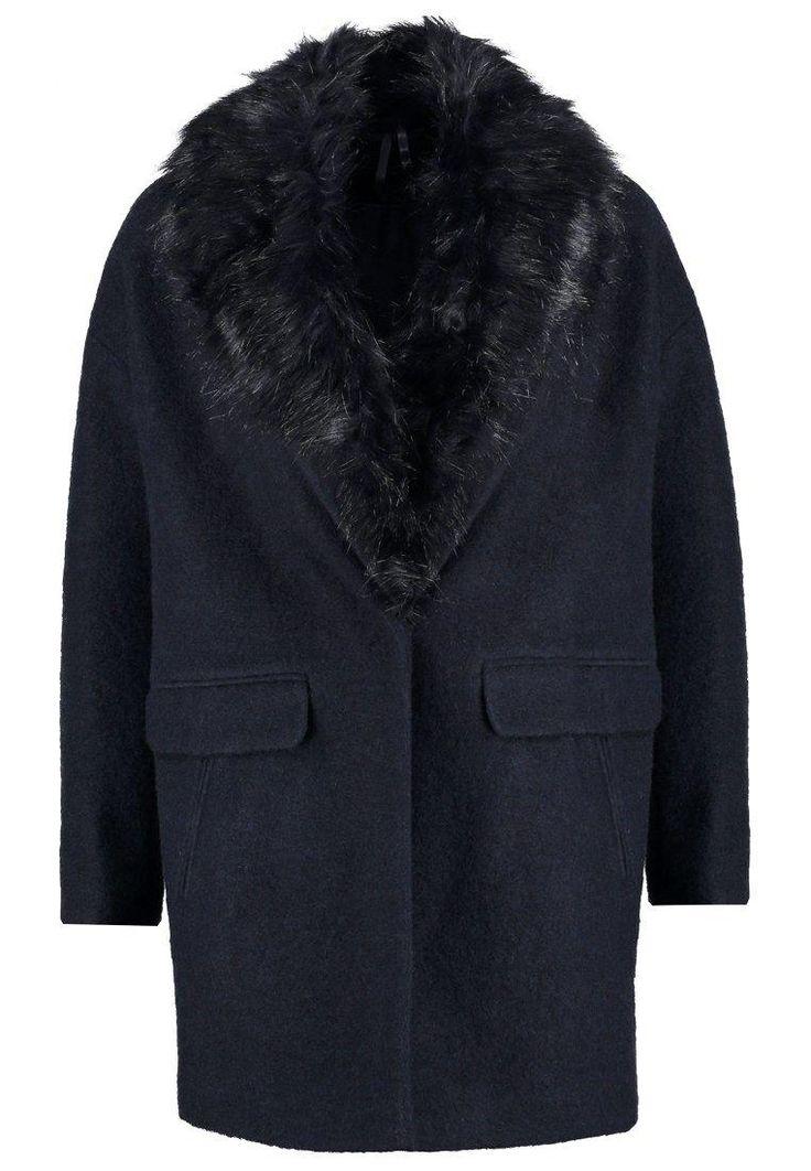 Dorothy Perkins Krótki płaszcz navy blue image