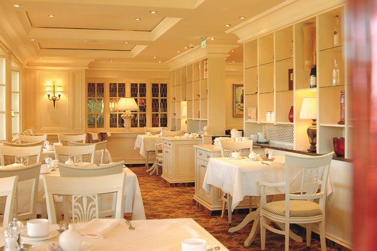 Klassisch zeitloses Ambiente im Restaurant
