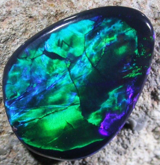 4.18 CTS BLACK OPAL -  LIGHTNING RIDGE- [SO4148] Black Opals, Australian Opals