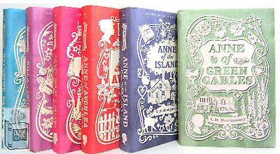 Anne of Green Gables Anne of Avonlea,Island,House Dreams + (hc) 6Bks
