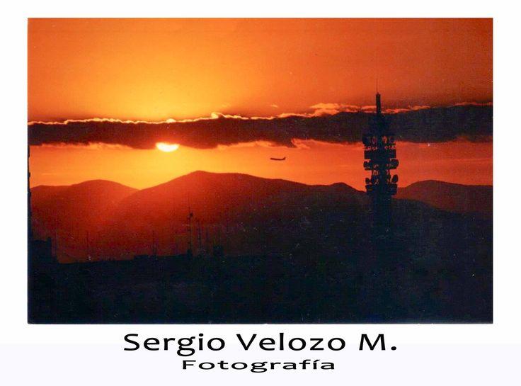 Puesta de Sol  Santiago - Chile