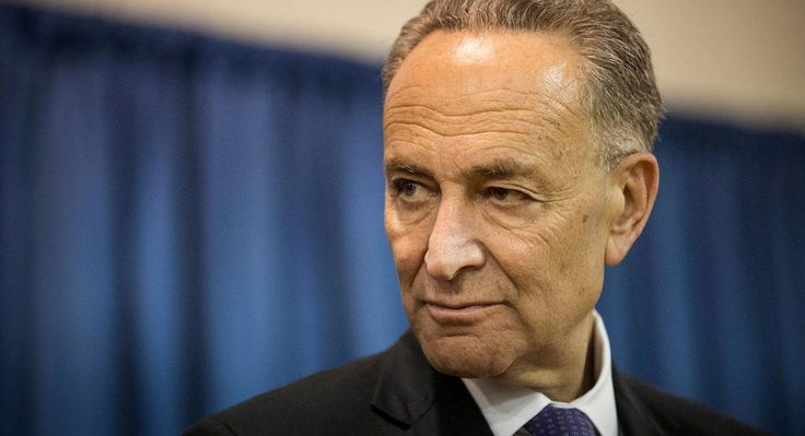 It looks as if Senator Charles Schumer, likely the next Democratic leader of the Senate, is going to sell his president out.