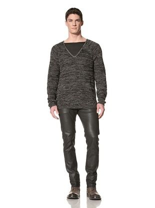 Marc Stone Men's V-Neck Sweater