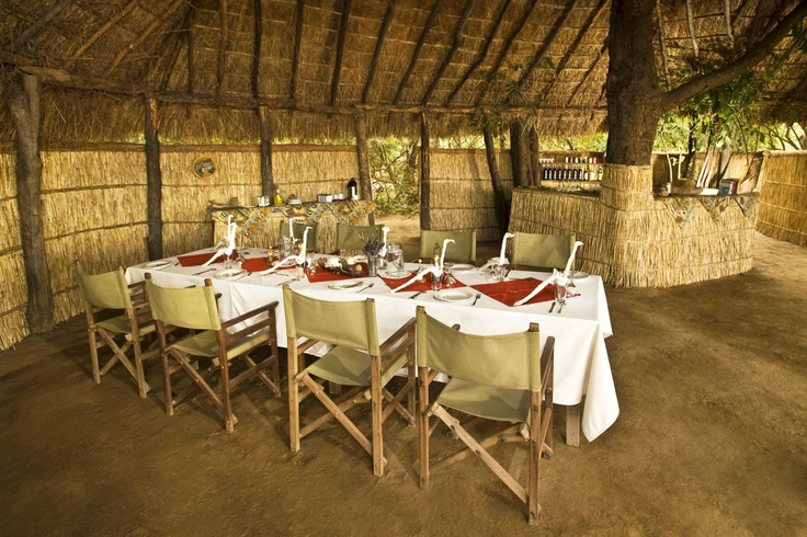 Enjoy a delicious lunch between game and walking safaris.