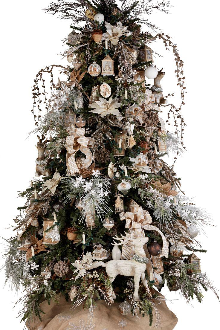 woodland holiday tree by melroseintl lvmkt seasonaldecor christmastree gift
