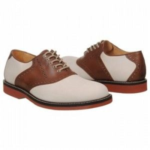 Popular Styles of 1940's Shoes for Men - 1940′s Style Mens Saddle Shoes in Brown and White