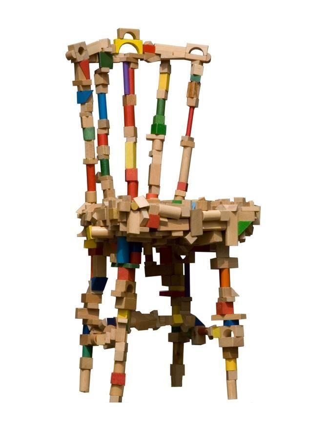 Unique Wooden Chair #KBhome