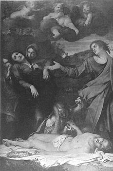 Annibale Carracci, Compianto su Cristo morto