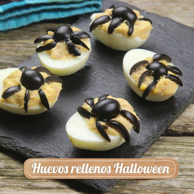 ¿Aún no tienes tu receta para Halloween? Prepara nos divertidos huevos rellenos de araña. Descubre la receta paso a paso en nuestro blog: http://blog.supermercadosmas.com/receta/huevos-rellenos-para-halloween/