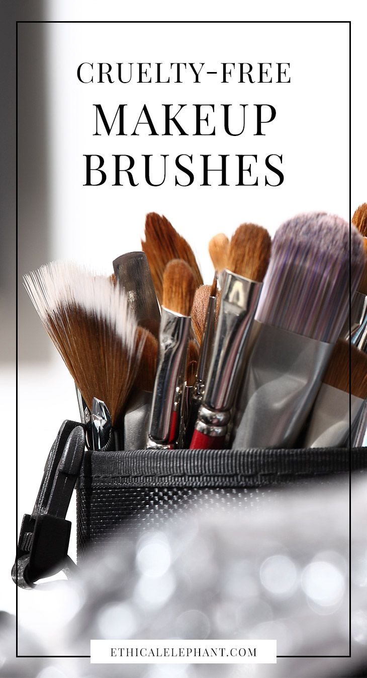 List of 30+ vegan and cruelty-free makeup brushes | no animal bristles or hair used