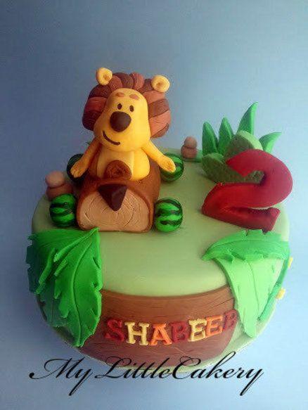 Ra Ra Noisy Lion Cake