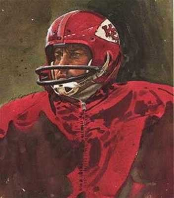 This is a great print of an NFL Legend. I just discovered this one. Sure to be a collectors item. Limited edition Merv Corning lithograph.