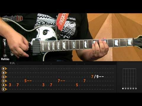 ▶ Nothing Else Matters - Metallica (aula de guitarra e violão) - YouTube