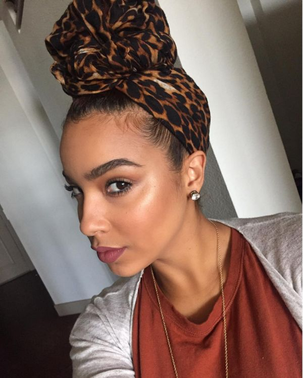 Incredible 1000 Ideas About Hair Wrap Scarf On Pinterest Silk Scarf For Short Hairstyles Gunalazisus