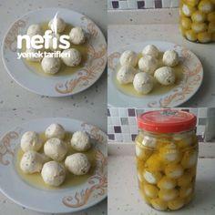 Zeytin Yağlı Süzme Yoğurt Topları (enfes ,kahvaltilik)