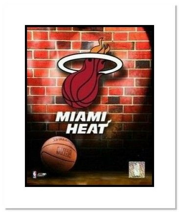 "Miami Heat NBA Team Logo and Basketball Double Matted 8 x 10 Photograph: ""There is no better… #SportingGoods #SportsJerseys #SportsEquipment"